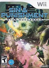 Sin and Punishment: Star Successor - Nintendo  Wii Game Only