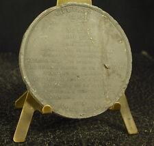 Médaille en grès XIX 52 ème Roi Charles V  fils de Jean le bon 51mm Medal