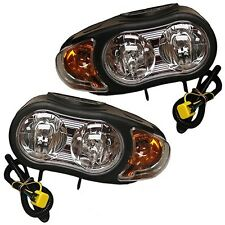 New 07549 Genuine Meyer Night saber II plow lights light set Meyers 07550 Nite 2