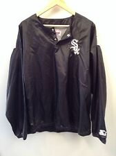 Chicago White Sox Pullover Large Starter Mens Mlb Black Vintage (150)