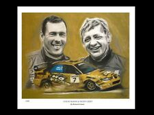 COLIN McRAE & NICKY GRIST: WRU -  FINE ART PRINT Signed by Artist
