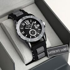 1 Day Designer Watch Auction! Brand New Anthony James, Box,Tag &Warranty SRP£435