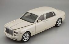 Kyosho Rolls Royce Phantom Extended Wheelbase Carrara White 1:18*New Item!