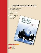 Loose-Leaf Operations and Supply Chain Management 14e, Chase, Richard, Jacobs, F