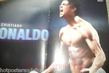 Ein Cristiano Ronaldo Poster shirtless sexy soccer wow very hot body Muskeln