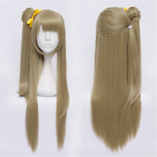 Love Live! new Fashion Minami Kotori Cosplay Hair Flaxen Straight Long Wig