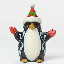 Jim Shore Figurine*LAZY LOVEABLE SANTA PENGUIN*New*CHRISTMAS*Holiday*4047684