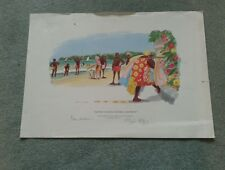 BILL TIDY LTD ED PRINT SIGNED BY TIDY AND DAVID GOWER