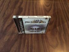 Final Fantasy Tactics (PlayStation 1, PS1) Brand New-Factory Sealed -Black Label