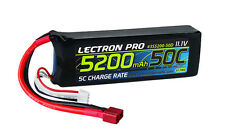 Lectron Pro 11.1V 3S 5200mAh 50C Lipo Battery Pack Deans Plug Axial HPI Ofna