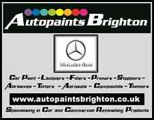 Mercedes 744 Silver Basecoat Metallic Car Paint 1L