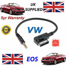Genuine VW EOS MDI 000051446D 3.5mm jack MP3 iPod in car Cable replacement