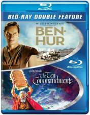 Ben-Hur/The Ten Commandments Blu-ray Region A BLU-RAY/WS