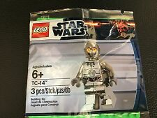 Lego Star Wars TC-14 Chrome Protocol Droid 5000063 SW385 NEW Polybag