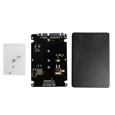 B+M Key Socket 2 M.2 NGFF (SATA) SSD to 2.5 SATA Adapter Card with Case New