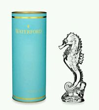 Waterford Collectible Giftology  Ornamental Crystal Seahorse Paperweight  NIB