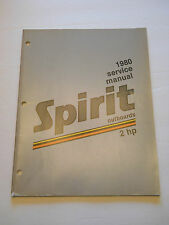 SPIRIT 2 HP OUTBOARD MOTOR SHOP SERVICE REPAIR MANUAL  1980
