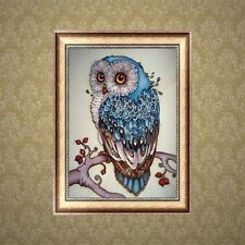 DIY 5D Diamond Embroidery Painting Owl Animal Cross Stitch Craft Home Decoration