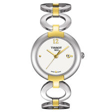 New Tissot Pinky Two Tone Stainless Steel Women's Quartz  Watch T0842102201700