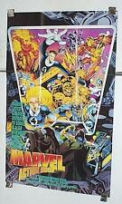 1994 Iron Man Fantastic Four Marvel Comics Action Hour animated series poster 1