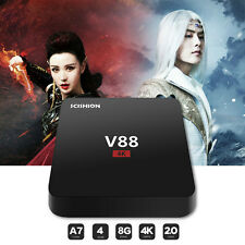 V88 RK3229 Quad Core TV Box WiFi Loaded TV Receiver Media Player for Android 5.1