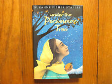 SUZANNE FISHER STAPLES Signed Book(UNDER THE PERSIMMON TREE-05 1st Edit Hardback