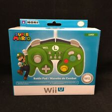 HORI Battle Pad for Wii U (Luigi Version) with Turbo ( Nintendo Wii U )