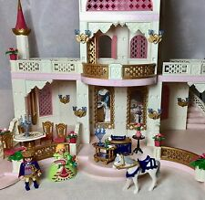 99% Complete Box Manual POSTER Playmobil 4250 Princess Magic Castle Retired SET