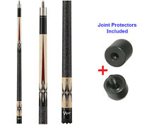 Viper Sinister 50-0552 Pool Cue Stick 18-21 oz & Joint Protectors