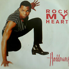 "7"" 1994 ! HADDAWAY : Rock My Heart ( RARE IN MINT- ! )"
