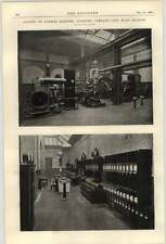1900 County Of London Electric Lighting Company City Road Station Photographs 2