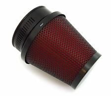 Black & Red Pod Filter - 50mm - Honda CB/CL350/360/450 CB500T