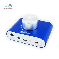Blue F900 Audio out function Mini 2.0 Stereo Amplifier with bluetooth receiver