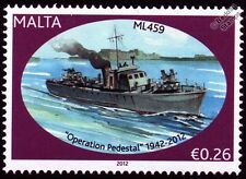 HMS ML459 Fairmile B Motor Launch Warship WWII Malta Convoys Stamp