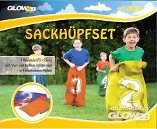Glow2B Sackhüpfset Sackhüpfen Hüpfsack Kartoffelsack Partyspiele Kinderspiele