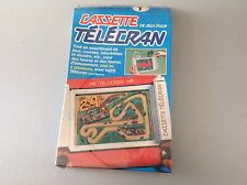 Vintage# Cassette N° 1 Telecran New Boxed Factory Sealed Sigillata