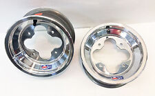 "DWT A5 Rolled Lip ATV Front Wheel PAIR 10"" 10x5 4+1 4/144 450R 400EX 250R 700XX"