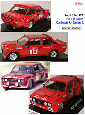 DECALS 1/43 FIAT 131 ABARTH CAMBIAGHI RALLY ELBA 1977