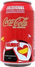 1 coca cola sin cafeina lata vacía de españa 2014 pequeñas lata