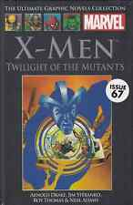 "MARVEL ULTIMATE GRAPHIC NOVEL COLL #67 ""TWILIGHT OF THE MUTANTS"" HC. FREE UK P+P"
