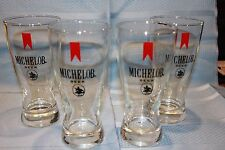 4 Michelob Beer Glasses