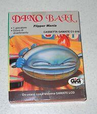 Cassetta GIG Gamate DINO BALL Flipper mania NUOVO Console C1-019