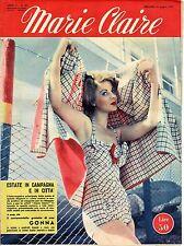rivista MARIE CLAIRE ANNO 1953 NUMERO 28