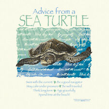 ADVICE FROM A SEA TURTLE XXLARGE ADULT T-SHIRT
