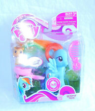 B1 My Little Pony ~*G4 FiM Playful Ponies RAINBOW DASH with Bangs MIB!*~