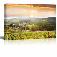 "Canvas Prints Wall Art - Chianti Vineyard Landscape in Tuscany, Italy- 16"" x 24"""
