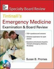 McGraw-Hill Specialty Board Review Tintinalli's Emergency Medicine Examination a