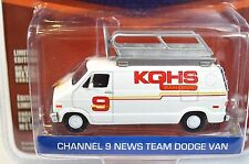 DODGE B-100 CHANNEL 9 NEWS ANCHORMAN RON BURGUNDY 44680 GREENLIGHT HOLLYWOOD 8