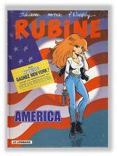 Rubine 6 America Walthery DeLazare Lombard 1998 EO avec autocollant publicitaire