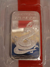 2013 APMEX Year Of The Snake Sealed 1 Troy oz .999 Fine Solid Silver Bar Lot A1